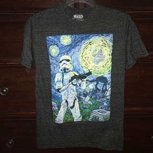Tops - star wars starry night tee